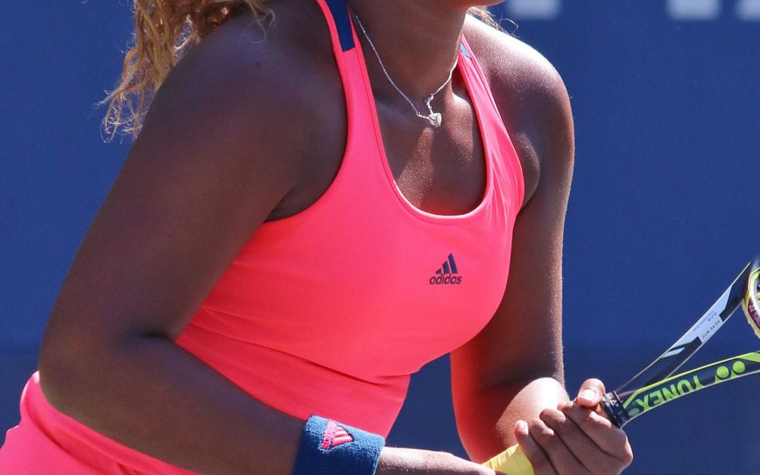 Naomi Osaka protest being shown as light-skinned and pale in ad